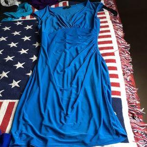 Light blue Lauren stretchy dress